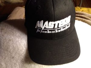 Embroidered MASTERS Cap